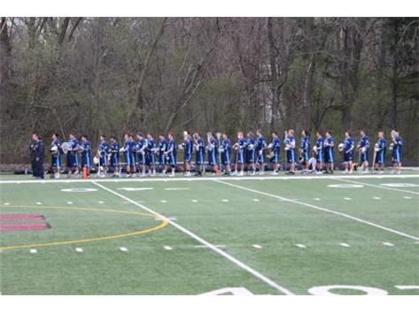 National Anthem before the Montini Game.