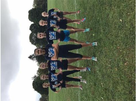 2016 DGS girls varsity CC team