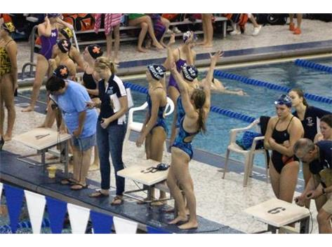 DGS Invite - Victorious Medley Relay