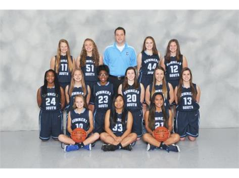 SOPHOMORE GIRLS BASKETBALL 2016-17