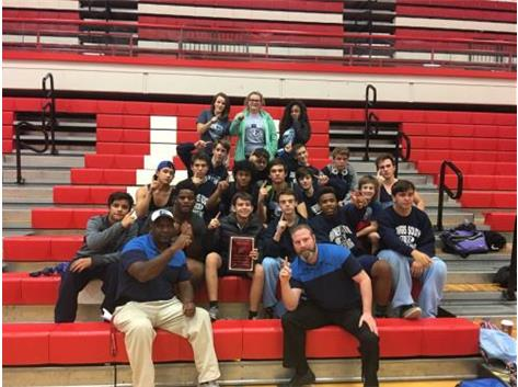 FR. WRESTLING HINSDALE CENTRAL INVITE CHAMPIONS 2016