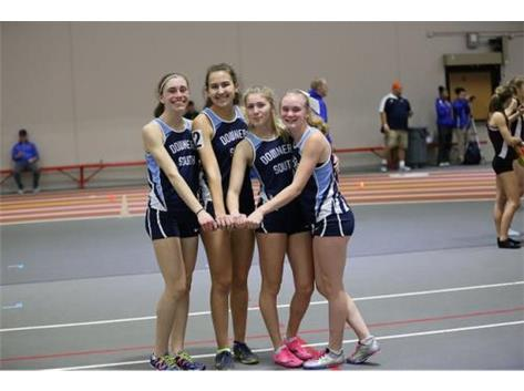 This relay team has recorded the 8th fastest time in the state this year