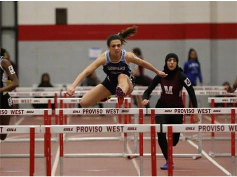 Conference Champion 55m hurdles