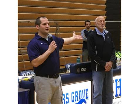 NAMING THE VARSITY INVITE IN RICH GRIESHEIM'S HONOR
