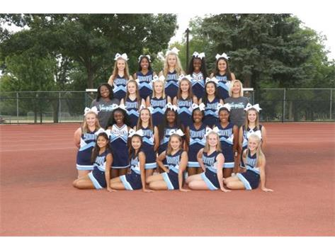 2017 JV FALL CHEER TEAM