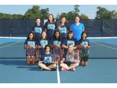2017 GIRLS FRESHMAN TENNIS