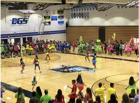 MAD DASH 2017.  ENSURING THE CLASS OF 2021 IS OFF TO A GREAT START