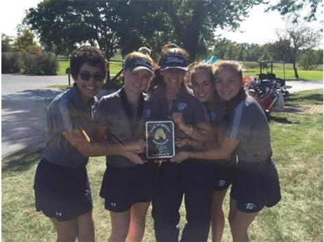 2ND AT OAK FOREST INVITE.  GREAT DAY MUSTANGS!