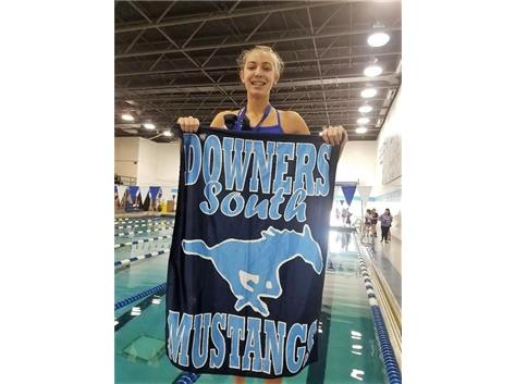 Madeline - 1st Place 50 Freestyle