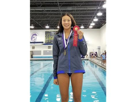 Annie - 2nd Place 200 Yard Individual Medley