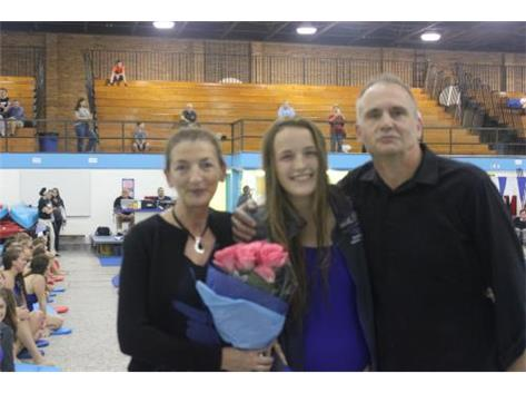 Aoife and her parents