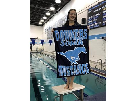 Aoife - 2nd Place JV 200 Yard Freestyle
