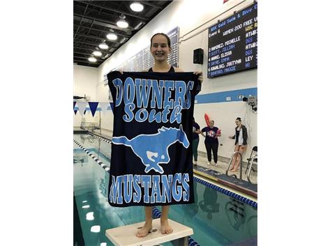 Mary - 2nd Place F/S 200 Yard Freestyle