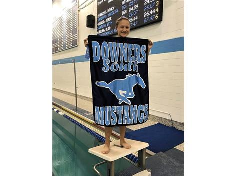 Sarah - 1st Place Frosh/Soph 50 Yard Freestyle