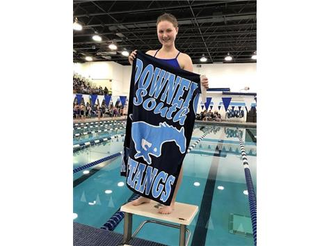Sarah - 3rd Place Frosh/Soph 50 Yard Freestyle