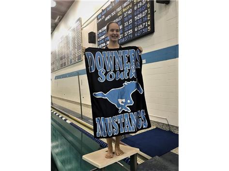Mary - 1st Place Frosh/Soph 500 Yard Freestyle