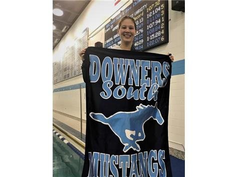 Savannah - 1st Place JV 100 Yard Breaststroke