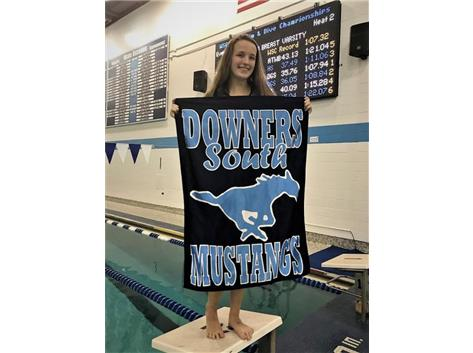 Aoife - 2nd Place JV 100 Yard Breaststroke