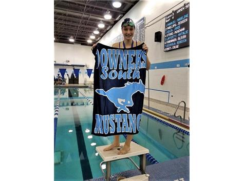 Jorie - 2nd Place 50 Yard Freestyle