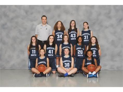 SOPHOMORE GIRLS BASKETBALL 2017-18