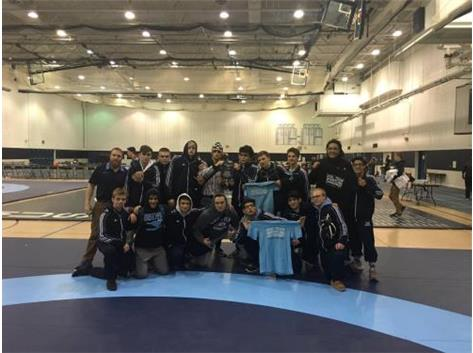 WRESTLERS 3RD AT THE DGS DUAL TEAM TOURN