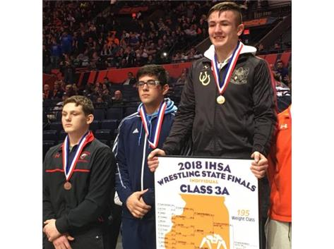 SERGIO TAKES SECOND AT STATE!