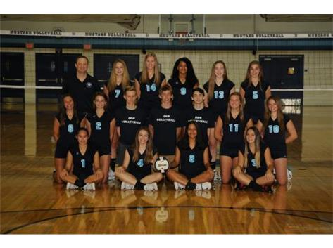 SOPHOMORE GIRLS VOLLEYBALL 2018