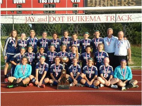 MUSTANGS 3RD IN STATE 2012