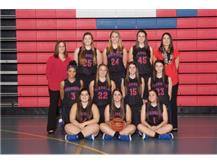 2015-2016 Varsity Girls Basketball Team