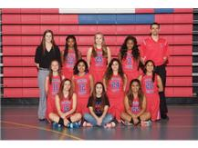 2015-2016 JV Girls Basketball Team