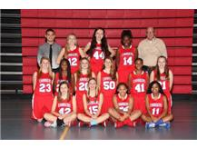 2015-2016 Freshman Girls Basketball Team
