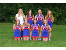 2016-2017 JV Cheerleaders