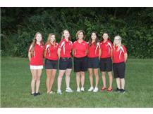 2016-2017 Girls Golf Team