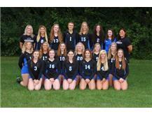 2016-2017 Varsity Volleyball Team
