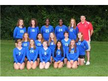2016-2017 Freshman Volleyball Team