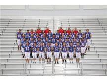 2016-2017 Varsity Football Team