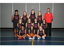 2017-2018 JV Girls Basketball Team