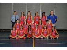 2017-2018 F-S Girls Basketball Team