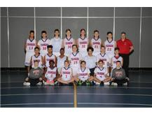 2017-2018 Freshman Boys Basketball Team