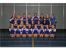 2017-2018 Competitive Varsity Cheer Team
