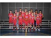 2018-2019 JV Boys Basketball Team