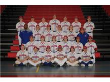 2019 JV Baseball Team