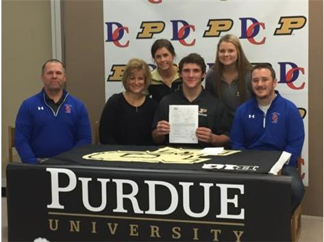 Congratulations to Christian Brunner - Official signing for Purdue University