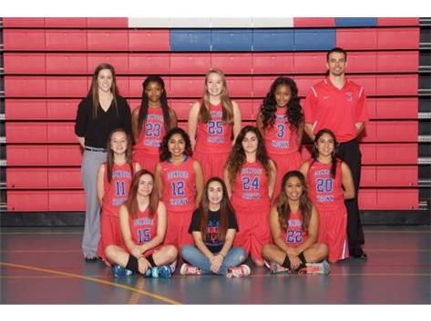 2015-2016 JV Girls Basketball Team
