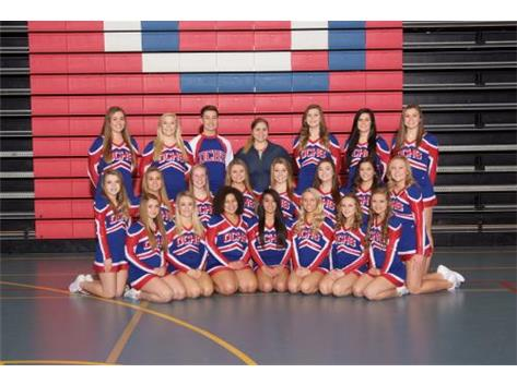 2015-2016 Varsity Competitive Cheer Team