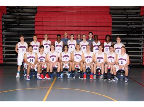 2015-2016 Varsity Boys Basketball Team