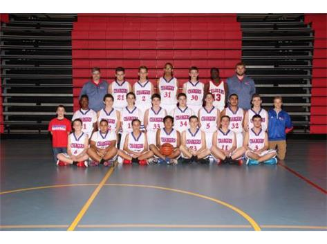 2015-2016 Freshman Boys Basketball Team