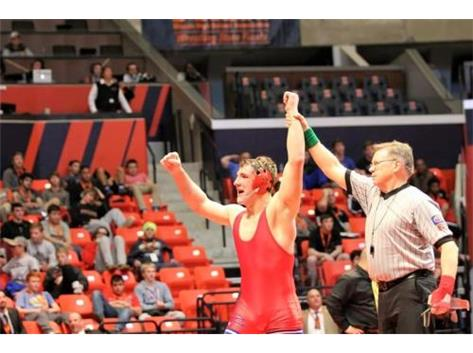 195 lb 3A State Champ Christian Brunner!