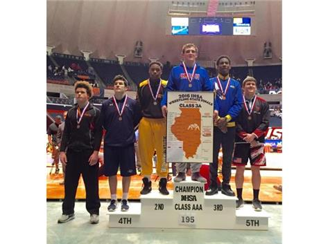 Christian Brunner 2016 3A 195 lb STATE CHAMP!