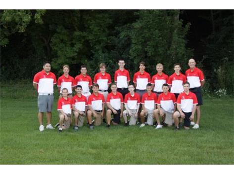 2016-2017 Boys Golf Team